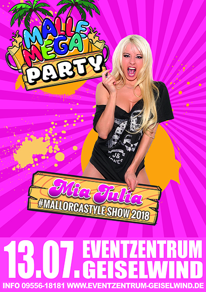 Malle Mega Party bei den VAD76 in Geiselwind